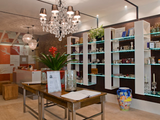 Emmilia Cardoso Designers Associados Ruang Keluarga Modern