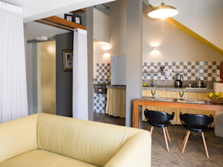 LOFT VOVÔ MEIUS ARQUITETURA Modern Living Room
