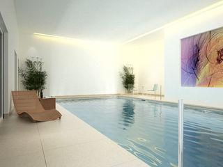 Palace Garden Terrace Aqua Platinum Projects Piscinas de estilo clásico