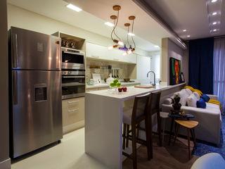 Estúdio HL - Arquitetura e Interiores Cocinas de estilo moderno