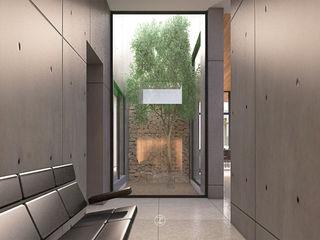 Lozano Arquitectos Giardino moderno Cemento