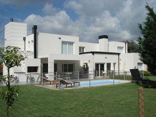 Estudio Arquitectura Integral Casas modernas Blanco
