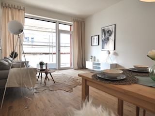 Retro-modern Karin Armbrust - Home Staging Ausgefallene Esszimmer