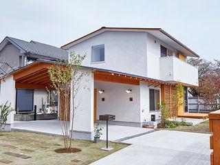 一級建築士事務所co-designstudio Scandinavian style houses Wood White