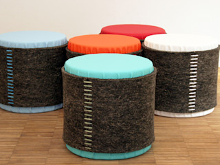 Mensch + Raum Interior Design & Möbel Salas/RecibidoresTaburetes y sillas