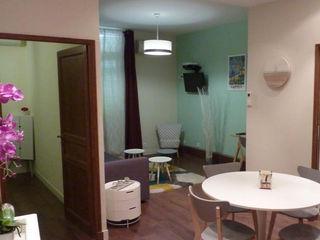 Home Staging - Cannes B.Inside Salle à manger scandinave Vert