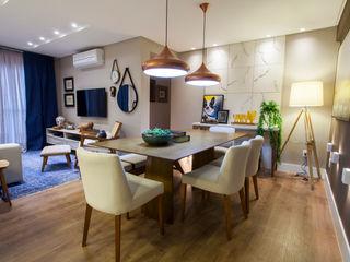 Estúdio HL - Arquitetura e Interiores Comedores de estilo moderno