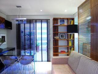 studio VIVADESIGN POR FLAVIA PORTELA ARQUITETURA + INTERIORES Salones de estilo moderno
