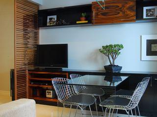 studio VIVADESIGN POR FLAVIA PORTELA ARQUITETURA + INTERIORES Comedores de estilo moderno