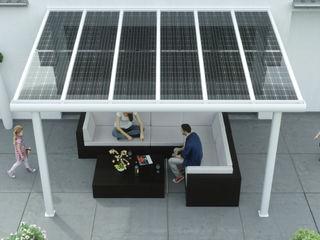 Solar Terrassenüberdachung Aluminium Solarterrassen & Carportwerk GmbH