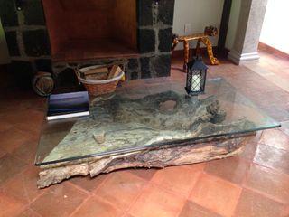 MVarquitectos Arq. Irma Mendoza Rustic style living room