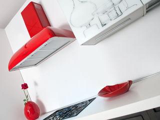 RP NEW STYLE Fabita CucinaElettronica Vetro Rosso