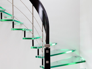 Passion Escaliers Pasillos, vestíbulos y escaleras de estilo moderno
