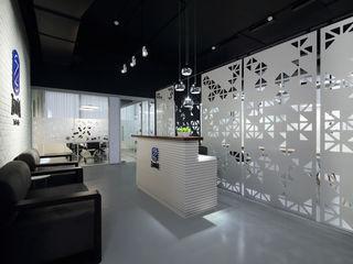Nitido Interior design Комерційні простори Бетон Сірий