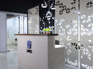 Nitido Interior design Комерційні простори Масив Білий