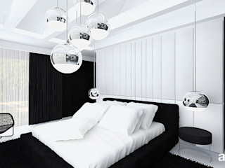ARTDESIGN architektura wnętrz Minimalist bedroom