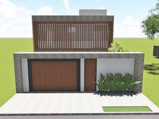Borges Arquitetura & Paisagismo Maisons modernes