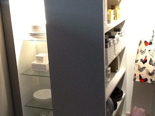 MinBai KitchenStorage Wood White