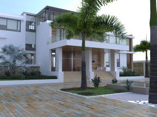 Area5 arquitectura SAS Modern Evler Beyaz