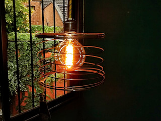 LAMPARA COLGANTE ESTILO INDUSTRIAL VINTAGE Lamparas Vintage Vieja Eddie HogarDecoración y accesorios