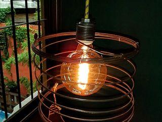 LAMPARA COLGANTE ESTILO INDUSTRIAL VINTAGE Lamparas Vintage Vieja Eddie LivingsIluminación