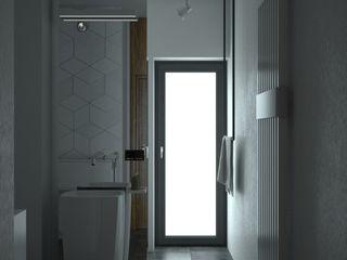 MArker Industrial style bathroom