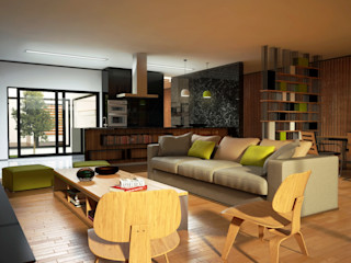 PROJETARQ Modern Living Room