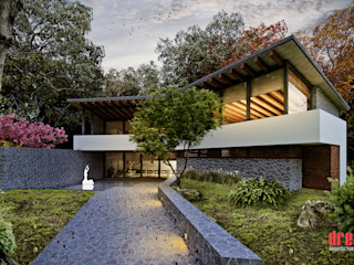 Estudio Meraki Country style houses
