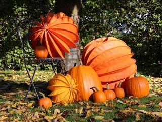 Der Barlooon als Gartendekoration im Herbst Barlooon Germany GmbH GartenAccessoires und Dekoration Gelb