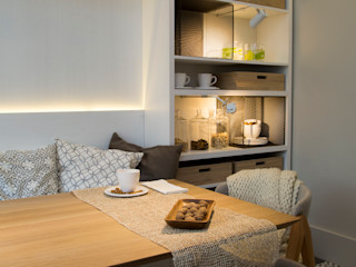Estudio de iluminación Giuliana Nieva Modern dining room