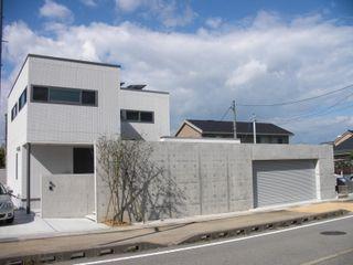 株式会社 砂土居造園/SUNADOI LANDSCAPE Modern Houses Concrete Grey