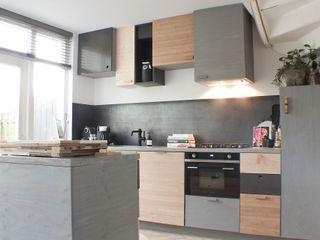 Studio Martijn Westphal Cuisine moderne Bois