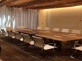 Trike Interiorismo Study/officeDesks Wood Wood effect