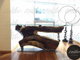 Trike Interiorismo Colonial style kitchen Wood Wood effect