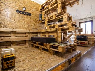 MODOM Office - Modular Work Space MODOM srl StudioArmadi & Scaffali Legno