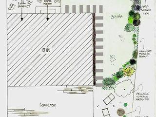 Le Jardin Qui Bouge Asian style garden