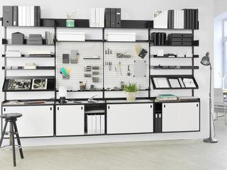 Elfa Deutschland GmbH Domowe biuro i gabinetMeble do przechowywania Matal Biały