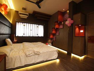 Offcentered Architects غرفة نوم