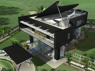 Offcentered Architects オリジナルな 家
