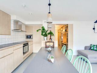 blackStones Scandinavian style dining room Plywood Green