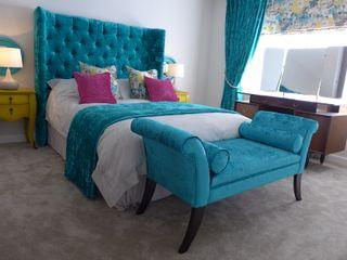 hotel style bedroom Style Within Cuartos de estilo clásico Gris