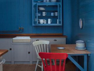 N1 Kitchen by British Standard British Standard by Plain English ห้องครัว ไม้ Blue