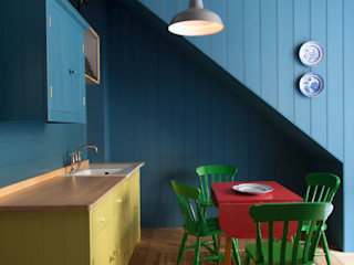 N1 Kitchen by British Standard British Standard by Plain English ห้องครัว ไม้ Multicolored