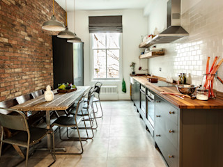 W10 Kitchen by British Standard British Standard by Plain English ห้องครัว ไม้ Black