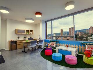 Cristina Cortés Diseño y Decoración Office spaces & stores