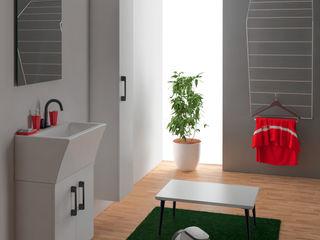 Xilon S.r.l. Ванна кімнатаЗберігання Керамічні Білий