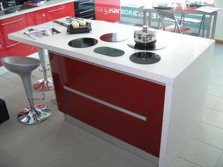 Ansidecor KitchenBench tops Red