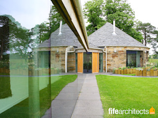 Mill Conversion Fife Architects Modern Houses