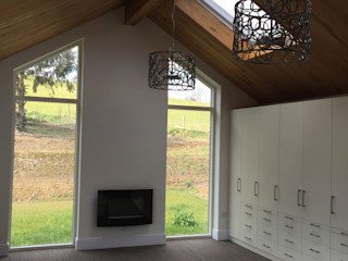 Exeter - Beautiful Single Storey Living Building With Frames Living room Wood