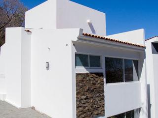 RESIDENCIA BAROCIO Excelencia en Diseño Casas minimalistas Piedra Blanco